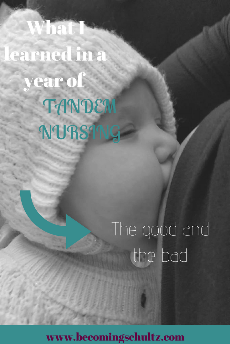 Tandem nursing is so challenging but it is also amazing. Breastfeeding has such a learning curve no matter how natural it is. breastfeeding support, breastfeeding tips, breastfeeding hacks, tandem breastfeeding, parenting, mom advice.