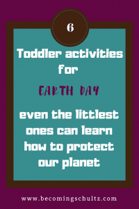 toddler earth day activities