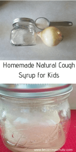 This easy homemade natural cough syrup is perfect for kids. No worrying about ingredients or giving them the right amount. If your child is over one you can do a honey cough syrup. It can be so hard when our kids are sick and we want to do everything to make them better. mom advice, parenting tips, DIY, homemade medicine