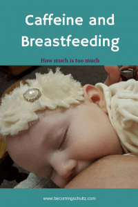 Breastfeeding is so important but the lack of sleep can be exhausting and you might find yourself needing a morning boost. Can you breastfeed and drink caffeine? How much caffeine is okay? Breastfeeding tips, breastfeeding advice, mom advice, parenting tips, breastfeeding support