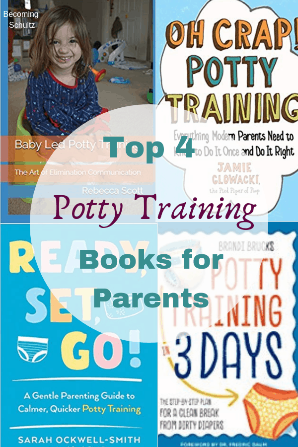 Best potty training books for parents to read and help with a smooth transition out of diapers. Books full of potty training tips for stubborn toddlers. #pottytraining #parentingtips