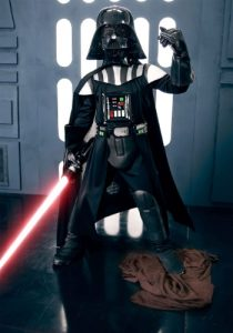 Darth Vader Halloween costume for toddlers