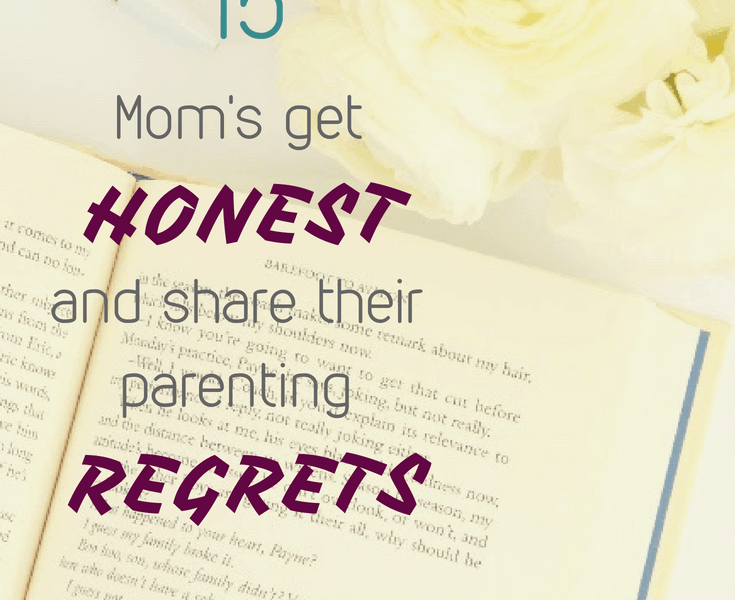 Being a parent is hard and we all wish we did something different. Admitting my biggest regret as a parent has brought me so much relief and the out pouring of moms sharing their story has been incredible. Some time you just need to know you aren't alone. great mom advice