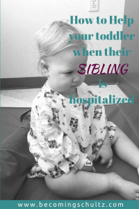 Hospital stays are so hard on siblings but there are some things you can do help make it better. Here are some parenting tips to help your family make your stay a bit more relaxing. mom advice, parenting advice, sibling advice