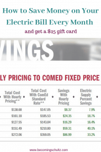 Comed Hourly Pricing >> Comed Hourly Billing How To Save Money On Your Electric Bill Every