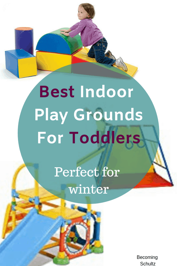 Toddler indoor play grounds are perfect for indoor play during those long winter months. Great for gross motor skills development and keeping your kids busy. If your play area needs an upgrade these are the toddler toys for you!