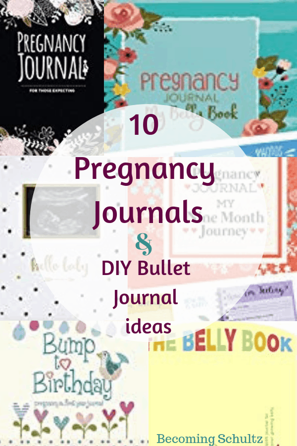 Pregnancy journals and DIY pregnancy bullet journal ideas. Pregnancy journal prompts perfect to get your journal started. #pregnancy #baby