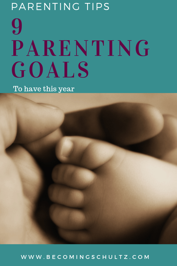 Parenting goals are a great way to start working towards helping your children be better people and for you to feel like a better parent. Setting goals can be hard when you aren't sure where to start but with this list of 9 family goals you can get some ideas.