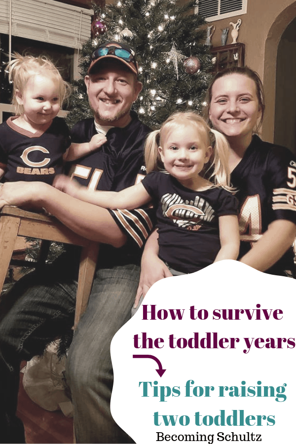 The toddler years are hard! And now you have two of them! How are you going to make it and keep your sanity?