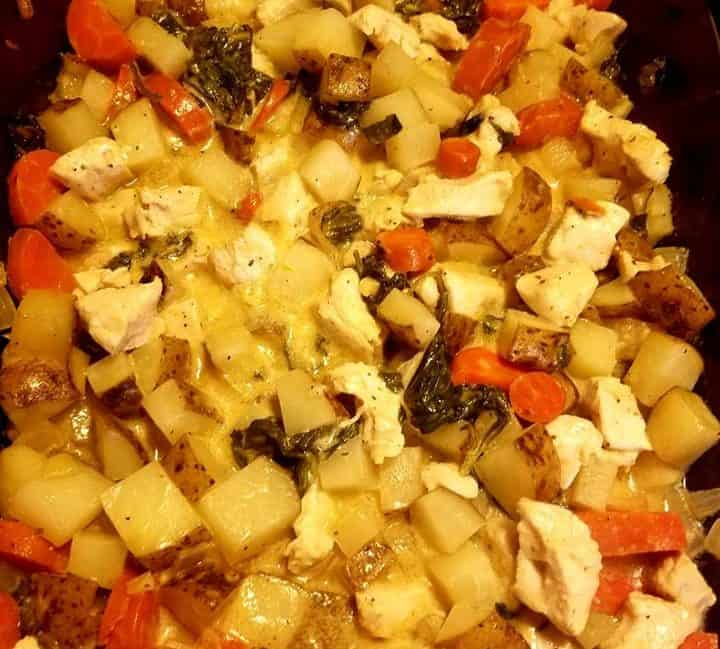 ranch chicken with veggies delicious and healthy family recipe