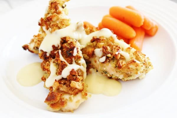 Stuffing covered chicken breast recipe