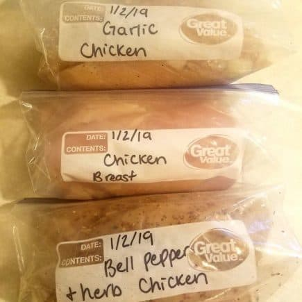 seasoning chicken for freezer meals budget friendly freezer meals