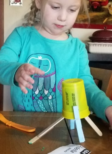 Boost fine motor skills and creativity using play doh