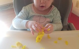 play doh busy activity for fine motor skills